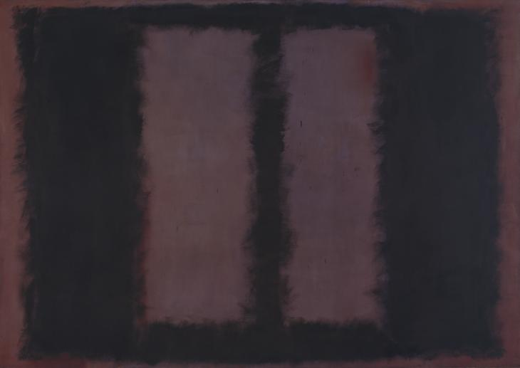 Mark Rothko, 'Black on Maroon' 1958