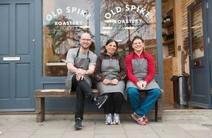 Old Spike Roastery, a social enterprise