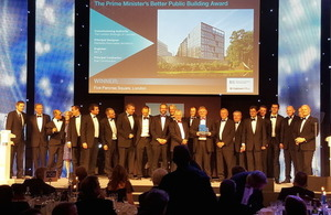 Five Pancras Square win Prime Minister's Better Public Building Award 2015