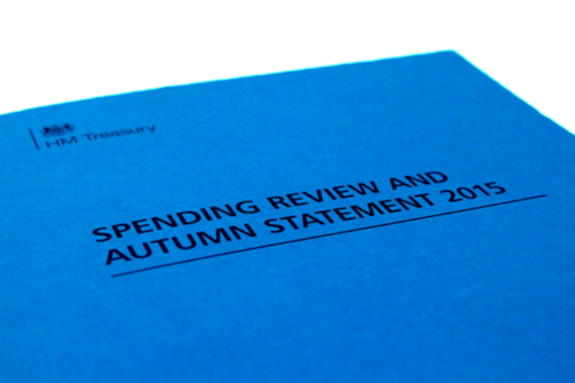 Autumn statement document