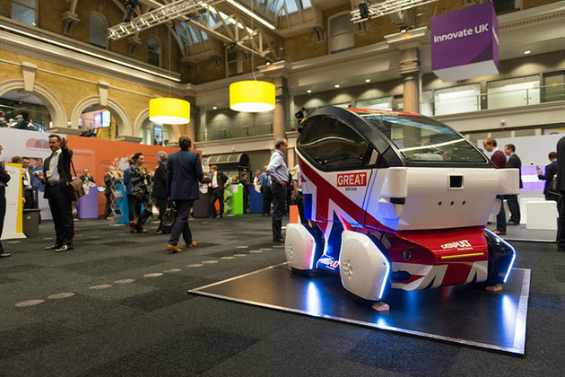 Driverless car at Innovate 2015