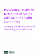 Preventing Deaths in Detention of Adults with Mental Health Conditions