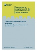 Cover of Traveller Caravan Count in England