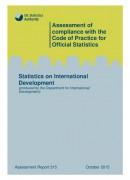 Assessment Report 315 - Statistics on International Development