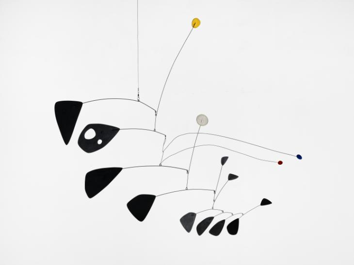 Alexander Calder, 'Antennae with Red and Blue Dots' c1953