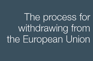 process for withdrawing