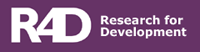 R4D - Research For Development Logo