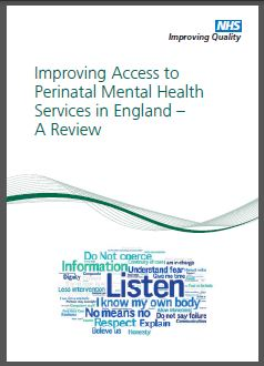 Improving Access to Perinatal Mental Health Services in England - A Review