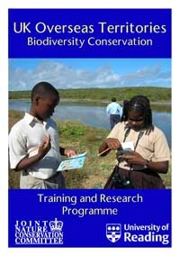UK Overseas Territories Training and Research Programme Leaflet, picture © Anguilla National Trust