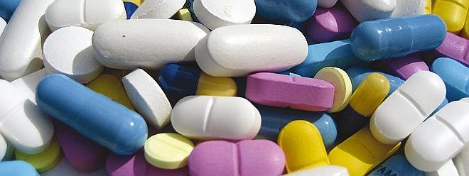 Pills drugs colours