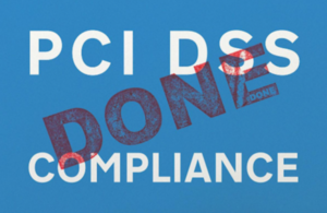 Image of 'PCI DSS compliance' marked 'done'