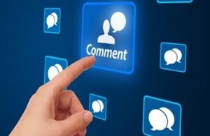 image of comment speech bubbles