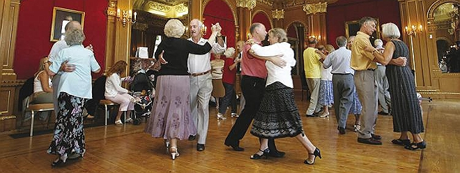 Social Care Old folks tea dance