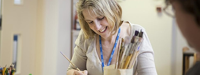 IAPT Psychological art therapy mental health