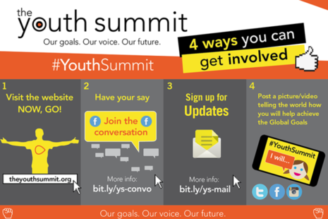 4 ways to get involved with the Youth Summit