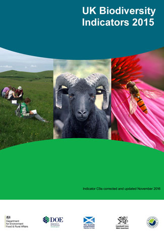 UK Biodiversity Indicators 2015
