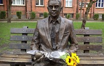 Alan Turing with Sunflowers
