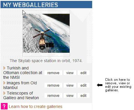 Fig 01: My web galleries