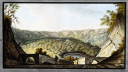 picture number:10306318 Title:The crater of Astruni, Kingdom of Naples, c 1760.