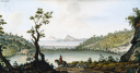 picture number:10306333 Title:View of Lake Avernus, (southern Italy), c 1770.