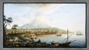 picture number:10306362 Title:Mount Etna viewed from from Catania, Sicily, c 1770.