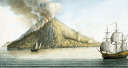 picture number:10306363 Title:The island of Stromboli, Sicily, 1768.
