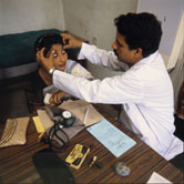 Image: According to Ayurveda, examining the size, shape and colour of the eyes gives information about the balance of the doshas