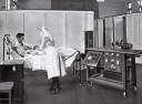 Electrocardiograph in use, 1927.