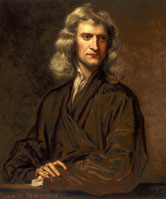 Image: Sir Isaac Newton, English mathematician and physicist, 1689