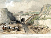 image: North Church tunnel, 1837