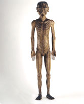 Image: Acupuncture figure, male, 17th century