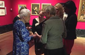 Her Majesty the Queen meeting female permanent secretaries