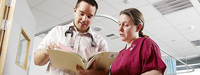 Hospital notes doctor consultant