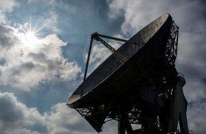 "Goonhilly Antenna 1, nicknamed  ""Arthur"" (Photo: Lauren Fearn)"