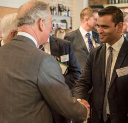 Royal visit to Lottery funded project a success