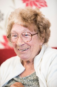 Picture of Doris, a member of one of the groups in the Standing Together project