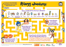 allergy adventures poster