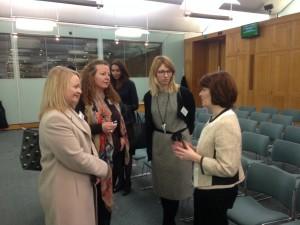 Allison Dowling, Sarah Hanratty, Beata Erwertowska and Jane Ellison