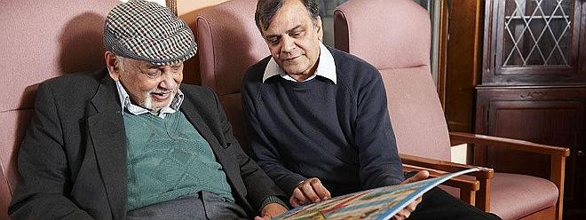 Social Services elderly man