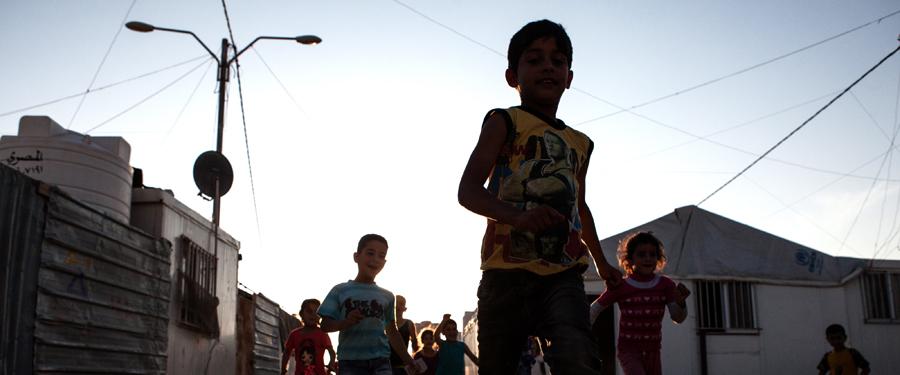 Zaatari Camp for Syrian refugees