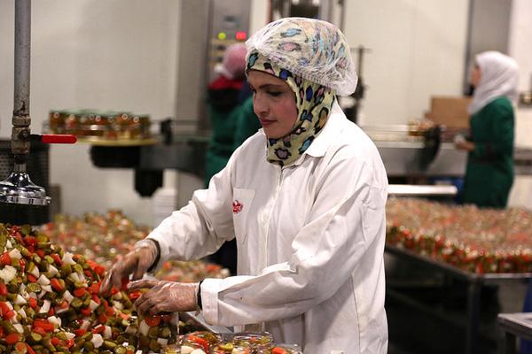 A Syrian refugee at work in Jordan. Picture: Bea Arscott/Department for International Development